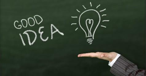 Gode ideer skal deles.
